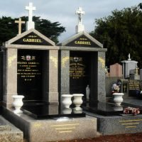 Personalised Single and Double Memorial Options