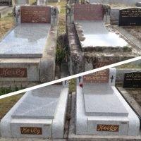 Restoring deteriorated memorial sites all over Victoria.